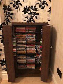 Next Dark Oak DVD or Book Storage Unit