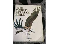 The world atlas of birds signed by sir peter scott