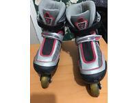 Inline roller skates size 12-size2