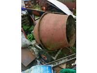 barrow mix half bag cement mixer with stand