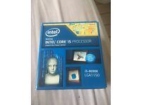 Intel i5 4690k cpu 1150 processor - boxed great condition