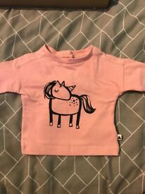 First size and tiny baby bundle of baby girl/unisex clothes
