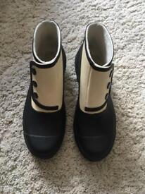Spats Rubber Ankle Boots 3