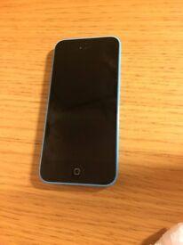 Spares or repairs Iphone 5c 8gb Blue