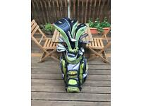 St Andrews Forgan F2 full set of golf clubs + bag