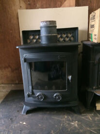 Yeoman wood burning stove