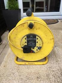 Cable reel 45M 4 socket