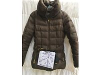 Zara Basic-Puffer/Padded-Jacket-Feather&Down Filling-Brown-Med-£15