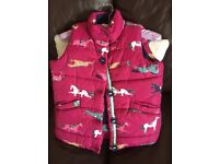 Joules - girls gilet Age 7