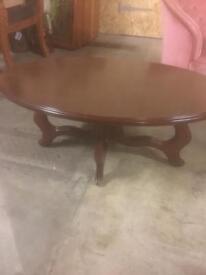 Lovely dark wood coffee Table