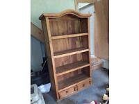 Mexcican pine bookcase
