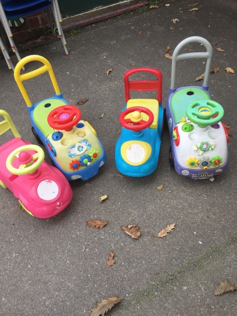 Baby Ridealong Cars