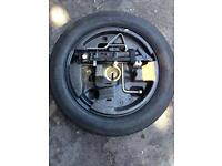 Bmw 530d space saver wheel & tools
