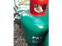 Patio Gas bottle 13kg on low £20