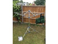 Camping washing line / camping clothes dryer