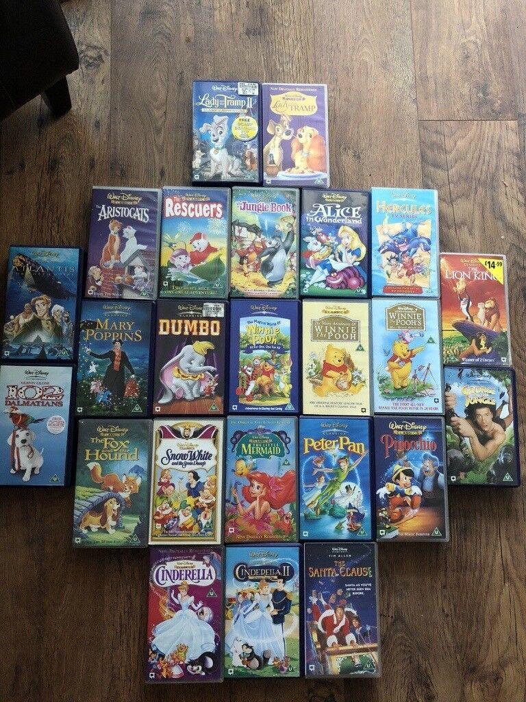 Walt Disney Vhs Bundle In Droitwich Worcestershire Gumtree