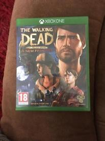Xbox one game the walking dead