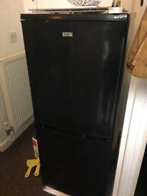 Black fridge freezer. Good condition