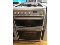 60 cm cannon, gas cooker with shut-off lid, refurbished has a 6 month warranty