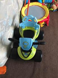 Boys Bby quad 1year old to 3