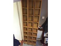 DVD shelves/rack IKEA Benno