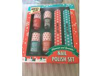 Nail polish set brand new