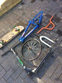 Bike,scooter,skate board parts