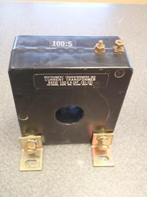 Instrument Transformers Inc. 191-101 Current Transformer 1005 600v