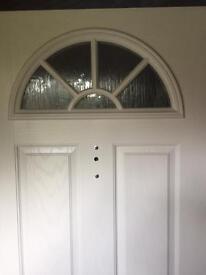 Composite Front door White Width 960 Height 2025 3 X Keys