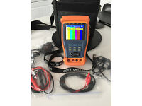CCTV Tester complete with multimeter Use when intalling your cctv cameras