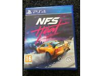PS4 PlayStation 4 Need For Speed Heat