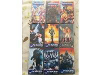 Manga original vhs The Guyver, Akira and Dominion Tank Police assorted episodes
