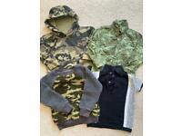 Next bundle of camo clothes boy 2-3 yeats