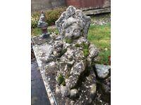 Stone Garden Ornament, Dozy Dwarf