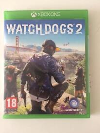 Watchdogs 2 Xbox one like new