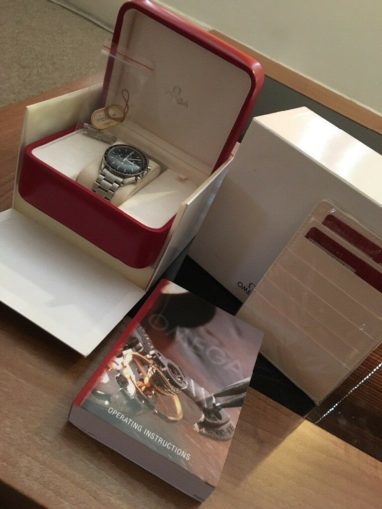 Omega Speedmaster Moonwatch Box and Papers