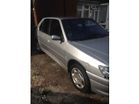 Peugeot 306 in good condition, full service history available, only two previous owners