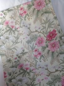 Curtains Floral incl pelmet and linings - 2 pairs - Laura Ashley Fabric