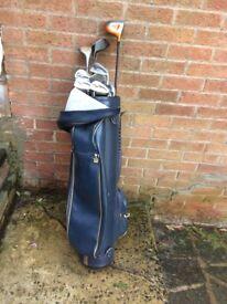 Half Set of Golf Clubs & a BAG for Sale