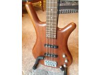 Tanglewood Warrior Bass Guitar and stand