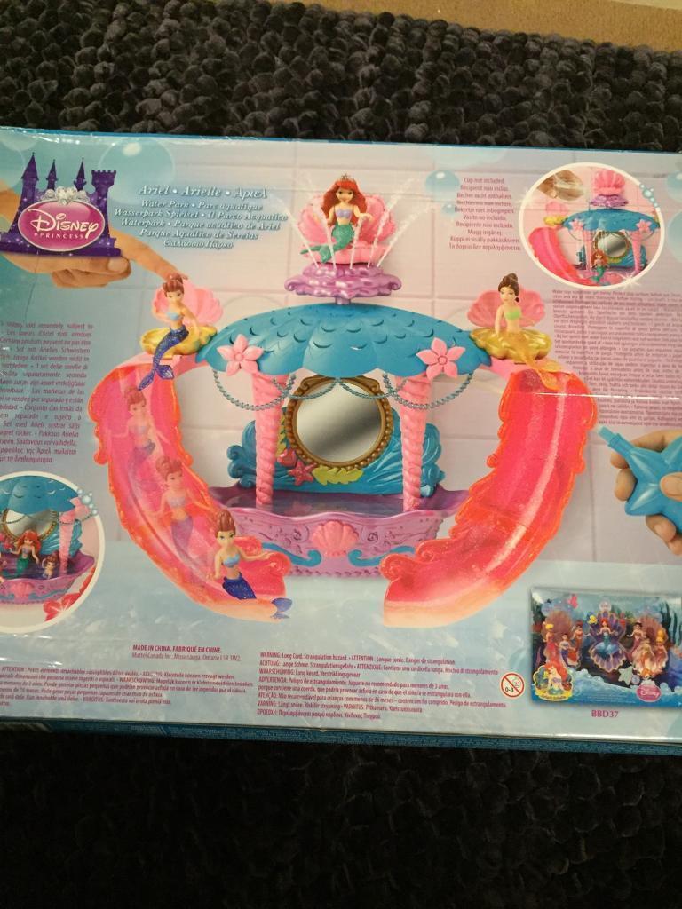 Ariel water park bath toy