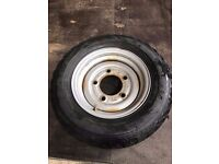 Ifor Williams, wheel and tyre 185 70 13