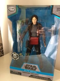 Star Wars Elite Series Jyn Erso 10 Inch Figure Brand New