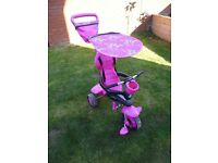 Smart-Trike in Pink with full original instructions