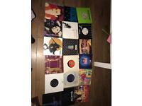 73 7inch vinyl records
