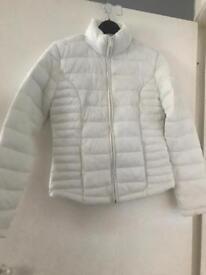 Woman's size 8 white coat