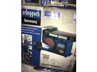 Scheppach belt and disk sander