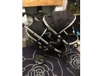 Icandy peach 2 double pushchair
