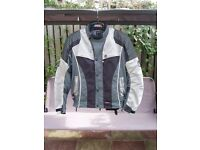 Belstaff Motorcycle Jacket Silver,Grey, Black, size XL