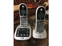 BT 4600 Twin Hand Sets phone